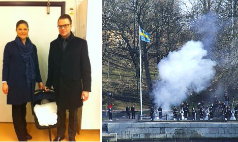 Live Blog: Sweden celebrates new princess