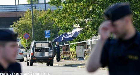 Four arrested for Malmö gang slaying