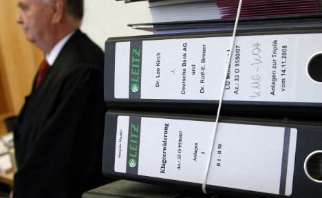 Deutsche Bank 'to pay €800 mln' in Kirch case