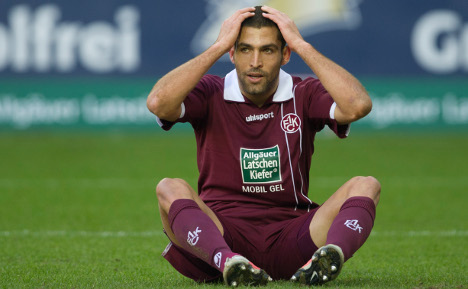 Nazi salutes aimed at Israeli footballer