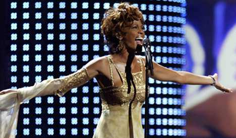 Germans saddened by Whitney Houston's death