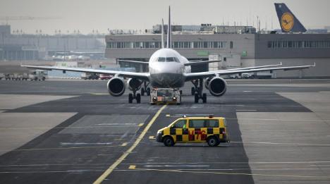 Strike grounds one in nine Frankfurt flights