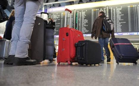 Monday strikes hit Frankfurt flights