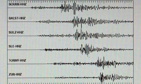 Swiss quake alarms some in SW Germany
