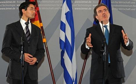 Greek uptake of German help 'discouraging'