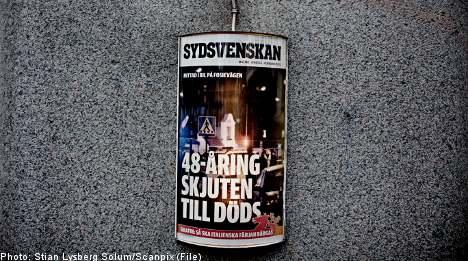 Gun violence 'most common' in Malmö