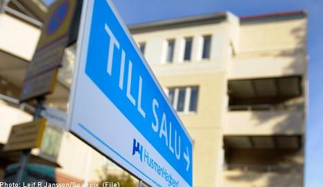House prices in Sweden begin upward climb