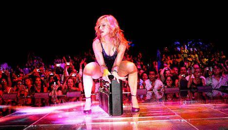 Madonna set for July 4th concert in Sweden