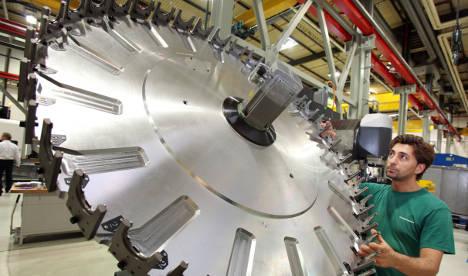 Industrial orders rise amid eurozone gloom