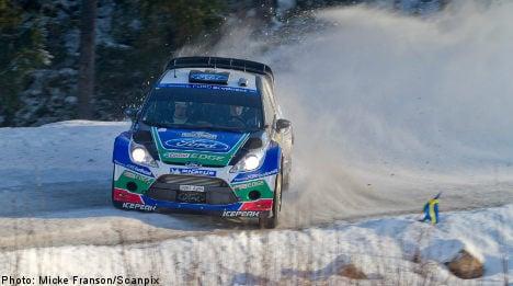 Flying Finn Latvala claims Swedish rally title