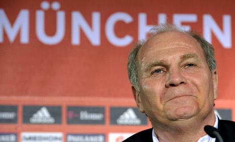 Hoeneß: Bayern saved Dortmund with €2 mln