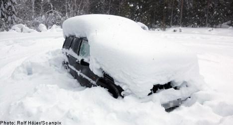 British paparazzi stalk Sweden's 'snow-man'