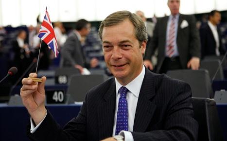 UK eurosceptic sparks uproar with Nazi jibe