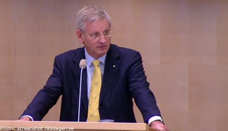 'Syria's Assad should step down': Bildt