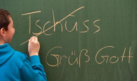 Bavarian school bars 'impolite' greetings