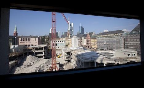 Frankfurt begins old town reconstruction