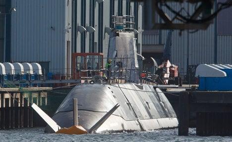 Controversial Israeli sub surfaces in Kiel