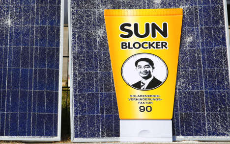 Cut in solar power support sparks row