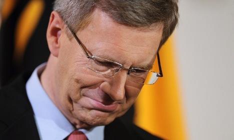 President Wulff resigns
