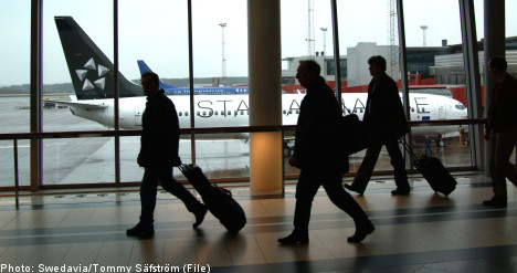 Swedish tourist halted for having 'terrorist name'