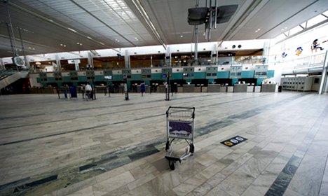 German man refuses to leave Swedish airport