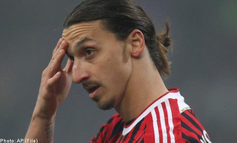 Zlatan admits slapping opponent 'an error'