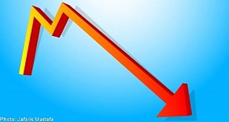 Swedish economy hit by eurozone troubles