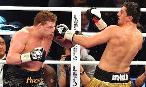 WBA heavyweight Povetkin beats Huck