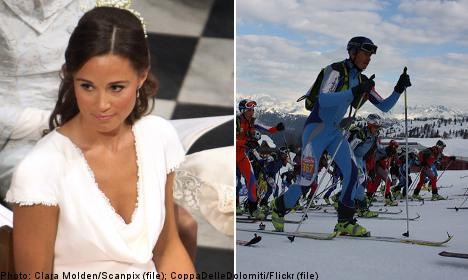 Pippa Middleton to ski in Sweden's Vasaloppet