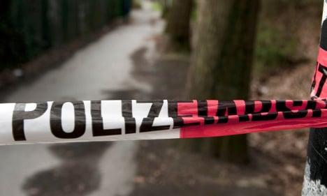 Police shoot dead man throwing bottles