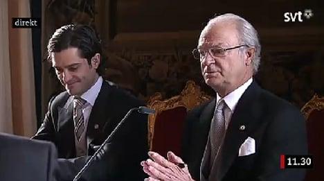 'Her name is Estelle': King Carl XVI Gustaf