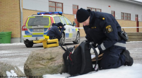 Man held for stabbing Swedish 10-year-old
