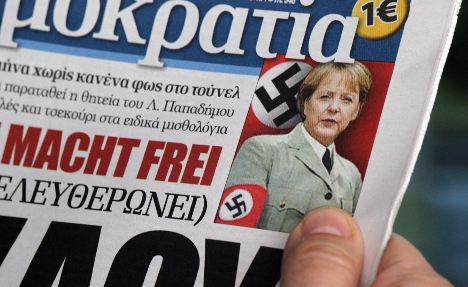 Greek journalist called Merkel 'dirty Berlin slut'