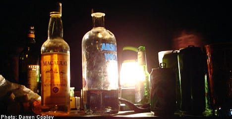 'Vodka-mobile' selling booze to Swedish kids
