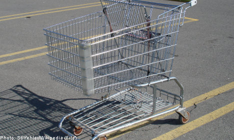 89-year-old convicted for shopping cart assault