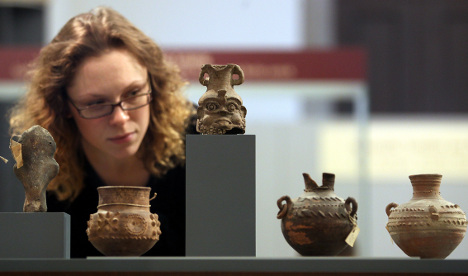 Lost ancient artefacts found after 50 years
