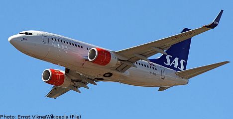 SAS earnings hit by Spanair bankruptcy