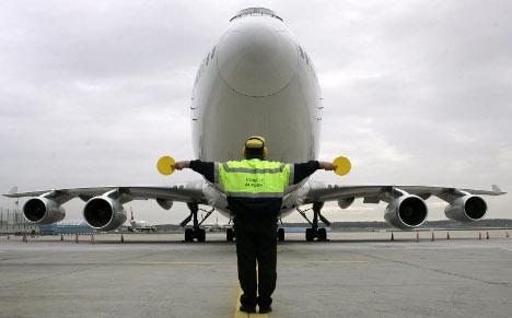 Air-traffic controllers to strike at Frankfurt Airport