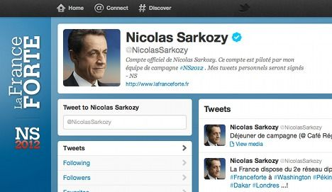 Spoof Sarkozy Twitter accounts removed