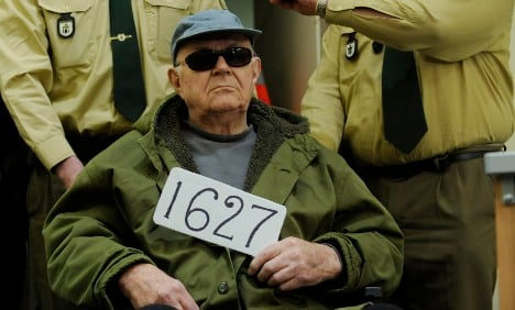 Nazi death camp guard Demjanjuk dies