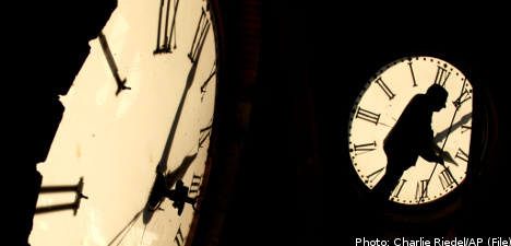 Sweden readies for daylight savings time