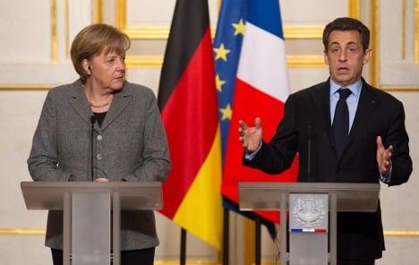Merkel brushes off Sarko election snub