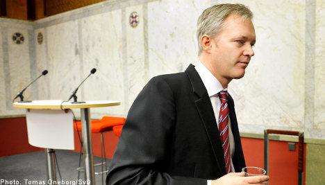 Scandal made Tolgfors's position 'untenable'