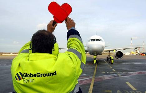 Strikers shut down German airports