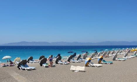 'Scared' German tourists 'avoiding Greece'