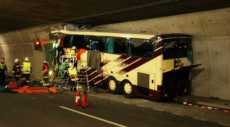 Parents visit crash site after Alps coach tragedy