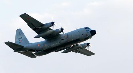Norwegian Hercules plane missing in Sweden