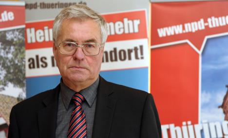 NPD leader admits using Nazi terrorist as driver