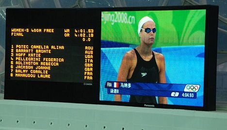 Swim champ in Twitter row over Toulouse