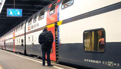 Intercom banter lands train conductor in trouble